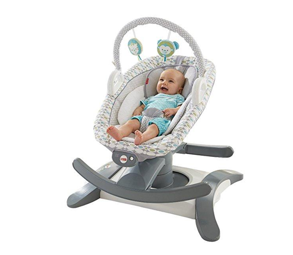 Cadeira Fisher Price Rock N Glide Alugue Alegria